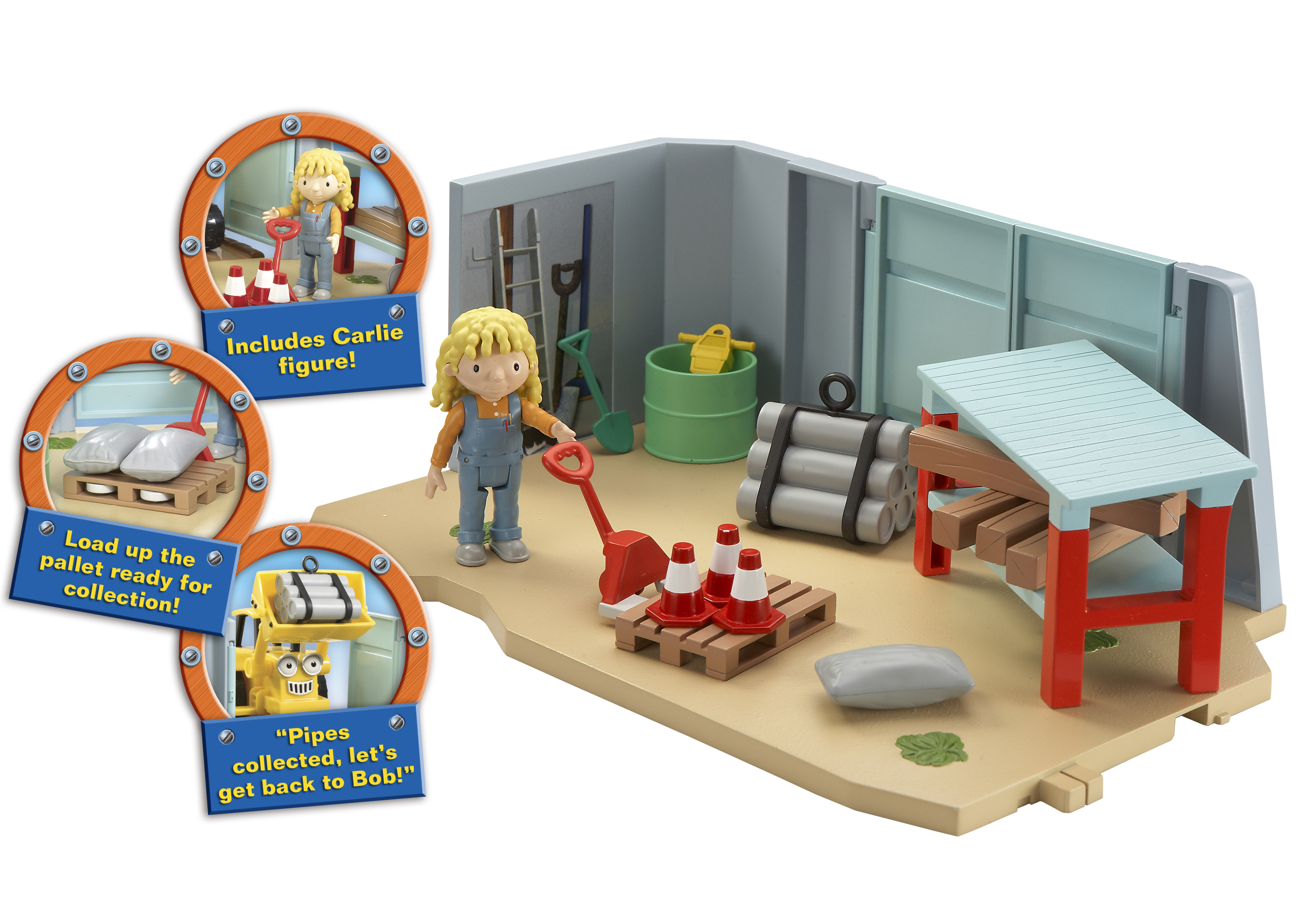 construction site bob the builder interactive
